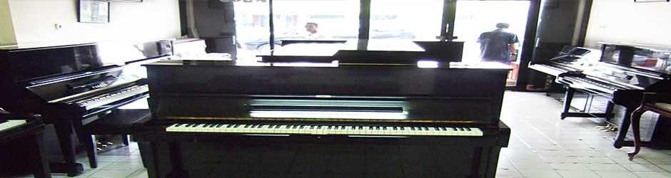 Rumah Piano jual piano bekas dengan harga murah kondisi prima dan dijamin garansi tiga tahun termasuk spareparts, juga menyediakan artikel piano