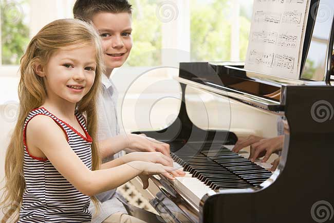 Cara Main Piano