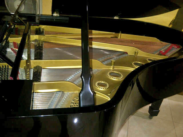 Piano Steinway & Sons Grand Model O dalam