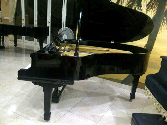 Piano Steinway & Sons tampak samping