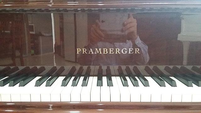 Jual Piano Baby Grand Disklavier Pramberger Wifi Ipad New
