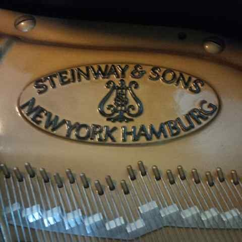 steinway and sons type m stempel