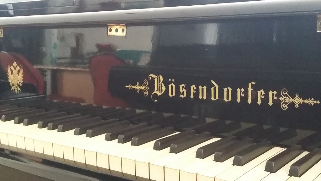 Jual Grand Piano Bosfndorfer Logo